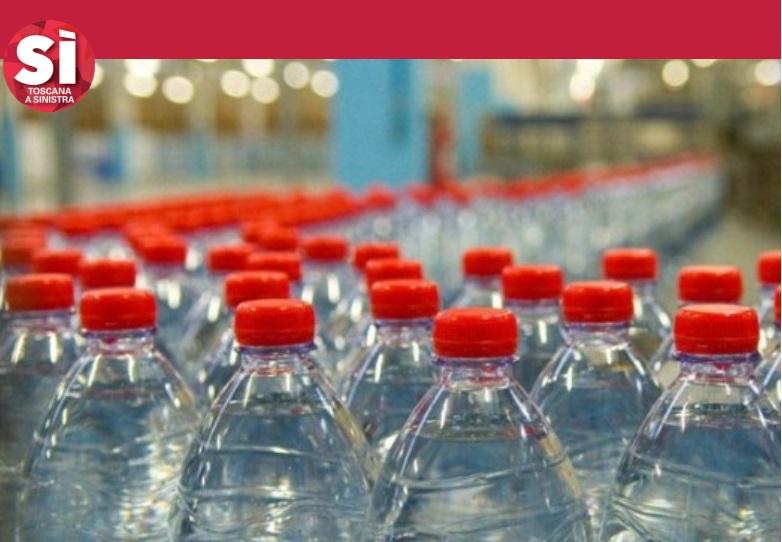 Acqua, in Toscana aumentare i canoni per le aziende di imbottigliamento