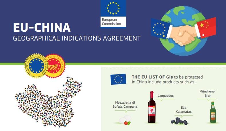 Ue e Cina firmano accordo per la tutela di 100 indicazioni geografiche