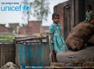 Rapporto UNICEF-Banca Mondiale, 385 milioni di bambini